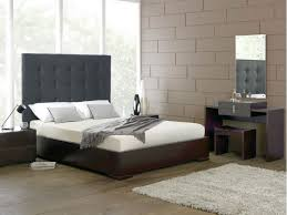 Modern Bedroom Headboards Bedroom Modern Wooden Couchette With White Mattress And Black
