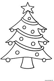 Coloriage Sapin De Noel Facile Pour Enfants Dessin