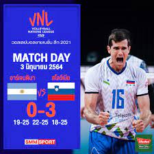 SMM Volleyball - 🏐 วอลเลย์บอลชายเนชันส์ ลีก 2021...