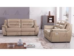 tan full italian leather recliner