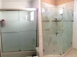frosted glass shower door frameless bathtub doors bathtubs the home depot enclosure