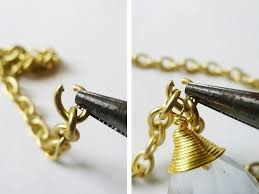 how to make a pendant necklace chandelier pendant necklace step 4