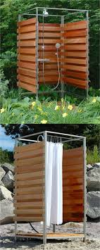 outdoor shower enclosures beautiful 32 beautiful diy outdoor shower ideas for the best summer ever