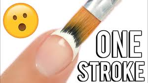 1-STROKE <b>French Tip</b> Nail Art <b>Brush</b>! Does it REALLY work ...