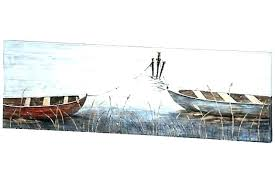 boat wall art j sailboat amazing water contemporary sail pottery barn hull boat wall art