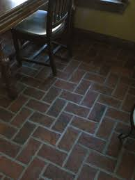 Brick Flooring For Kitchen Small Floor Tiles Home Decor