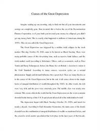 the great depression essay okl mindsprout co the great depression essay