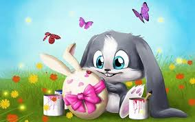 Cute Easter Wallpapers Group (62+)