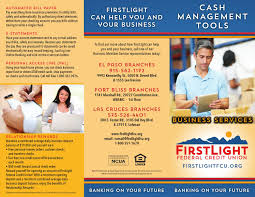 First Light Lee Trevino Cash Management Tools Firstlight Business Services By