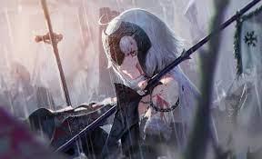 Warrior Anime Girl 5k, HD Anime, 4k ...