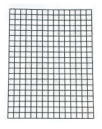 Bold Line Tactile Graph Sheets