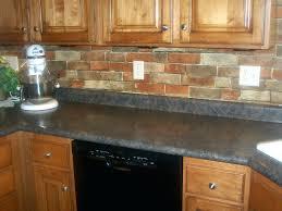 red brick tile backsplash kitchen with brick red tile kitchen with ...