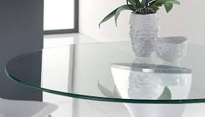 glass table top clear round replacement rectangle toppers home bath centre rubber cover tempered per