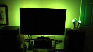 Tv accent lighting Black Background Youtube My Tv Accent Lighting Setup Youtube