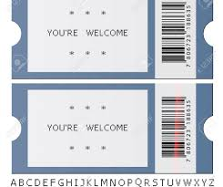 Concert Ticket Maker Sample Ticket Templates Sample Ticket Template For Events Tickets 5