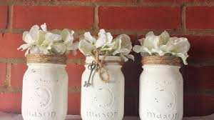 How To Use Mason Jars For Decorating How To Make Beautiful Rustic Mason Jars DIY Crafts Tutorial 54