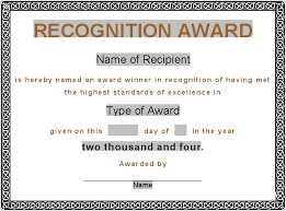 Recognition Awards Certificates Template Award Certificate Template Award Certificates Award Certificate