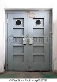 old elevator door csp8523748
