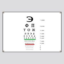 Cyrillic Chart Russian Alphabet Banners Cafepress