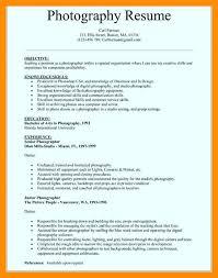 Photographer Resume Objective Photographer Resume Template Photographer Resume Resume Jack 73