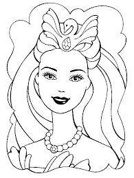 Disegni di barbie da colorare. Disegno Barbie 2