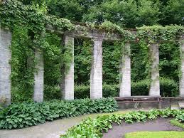 garden columns. Simple Garden Arch Arches Overgrown Garden Bench Column Columns Greek Ancient  To Garden Columns A