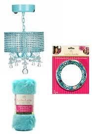 locker lookz school locker organizer and accessory chandelier aqua teal design set of 3
