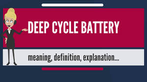 Deep Cycle Battery A Guide To The Best Deep Cycle