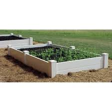 garden beds. vinyl raised garden beds