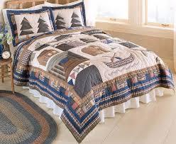 modern rustic bedding style