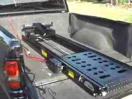 Power Lift Motorcycle Trailer Ramps From Rampage Lifts - YouTube
