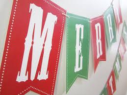 Merry Christmas Banner Print Free Printable Merry Christmas Banner Christmas Printables