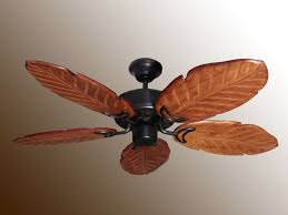 ceiling fan palm blades. tropical ceiling fan best with five blades in brown wooden materials palm