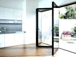 folding patio doors cost glass s exterior bi fold charming accordion bifold garage door
