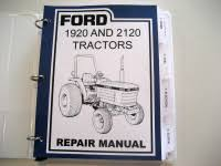 ford 1920 and 2120 tractor service repair manual newoldmanuals com ford 1920 and 2120 tractor service repair manual