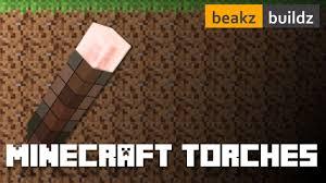 Minecraft Light Up Torch Uk Minecraft Making Torches