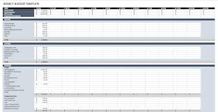 Best Budget Templates 033 The Best Excel Budget Template Ic Weekly Imposing Ideas