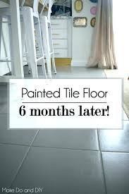 how to paint floor tiles in a kitchen painted tile floors can i