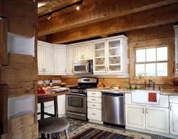 cabin kitchen ideas. Log Cabin Kitchen Ideas With Artistic Appearance For Design And .