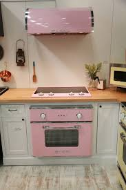 Light Pink Kitchen Remarkable Retro Kitchen Appliance Light Yellow Stainless Steel