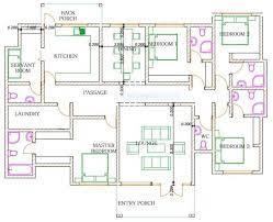 4 bedroom design 1256 b bungalow