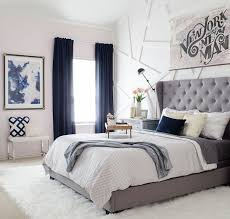 blue bedroom decor. Wonderful Blue Navy Blue  Bedroom Curtain Ideas 15 Ways To Decorate With Curtains  Ideas U0026 Inspirations Pinterest Bedroom Bedroom And Master And Decor A