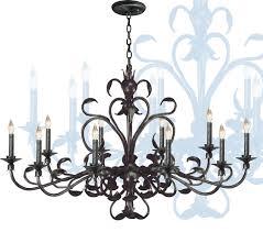 image of chandelier ceiling fan light kit