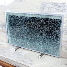 modern glass fireplace screen fireplace tools menards