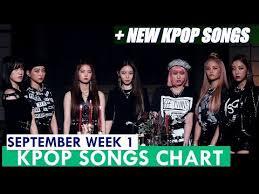 Kpop Chart 2019 Top 60 Kpop Songs Chart September Week 1 2019 Kpop Chart