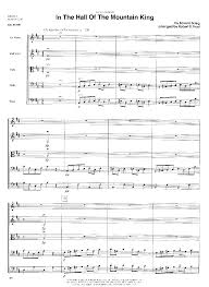 The sforzatos are in accordance to the original score. In The Hall Of The Mountain King By Edvard Grieg J W Pepper Sheet Music