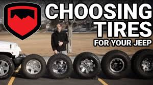 Jeep Wrangler Tire Size Chart Choosing Tires For Your Jeep Teraflex