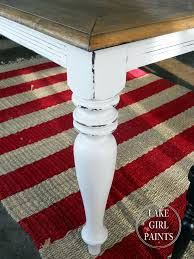 painted furniture ideas tables. Dining Table -Black To Farmhouse Natural \u0026 White Painted Furniture Ideas Tables S