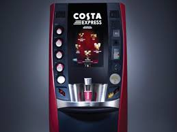 Costa Coffee Vending Machine Rental