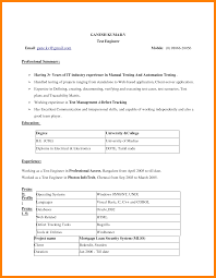 Word 2007 Resume Templates Pleasing Resume Format Template For Word 24 For Your Microsoft 14